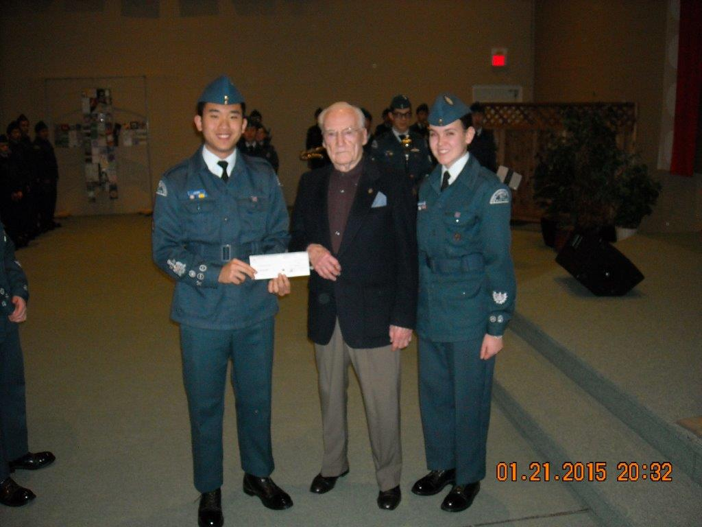 RCAF Cadets Donation