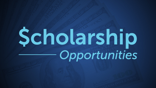 scholarship banner layered